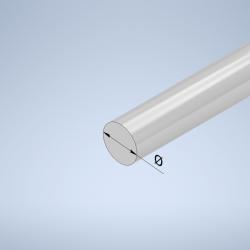 Barre aluminium ronde...