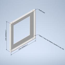 Rahmen mit gleichem Winkel