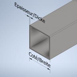 Vierkant-Stahlrohre