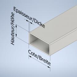 Rechteck-Stahlrohre